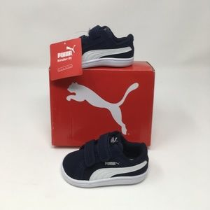 Puma Baby Smash Fun SD Sneaker Peacoat White 4T